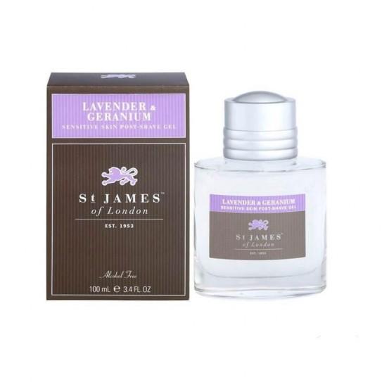 Żel po goleniu St. James of London Lavender & Geranium 100 ml