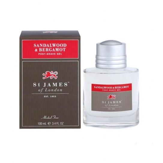 Żel po goleniu St. James of London Sandalwood & Bergamot 100 ml