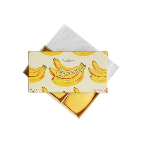 Zestaw mydeł Confianca Bananas 3X 140 g