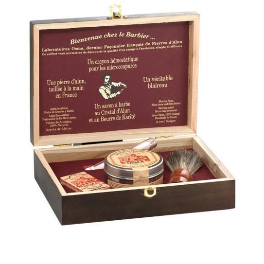 Zestaw prezentowy do golenia Osma Traditional Shaving Set 4 Elementy