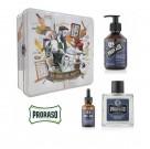 Zestaw do brody prezentowy Proraso Beard Kit Azur Lime  2