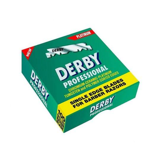 Żyletki Derby Professional Połówki 100 szt.