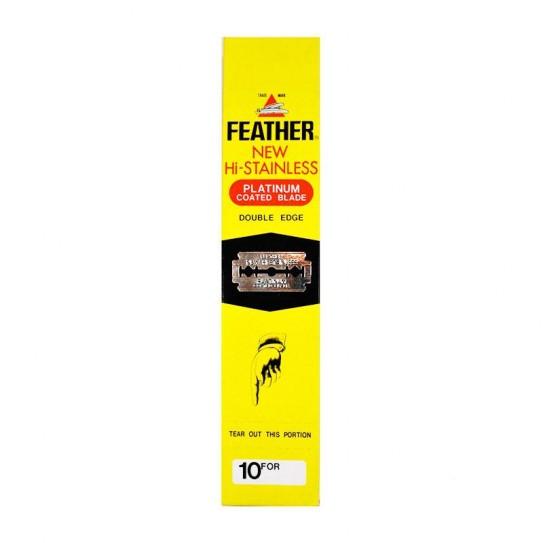 Żyletki Feather New Hi- Stainless 200 szt.