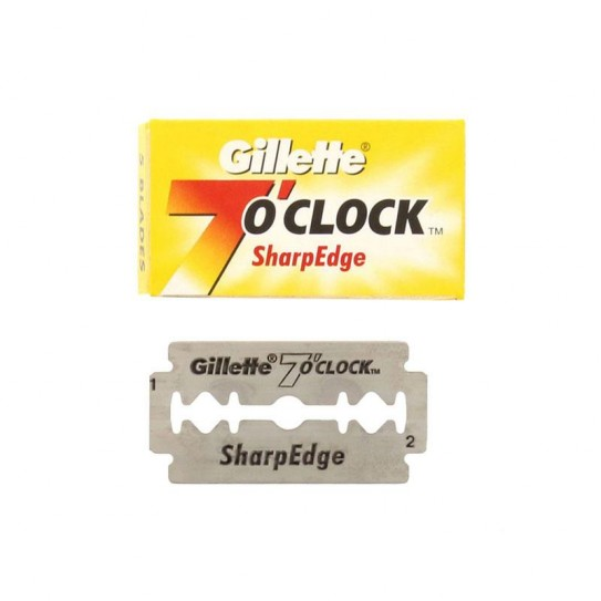 Żyletki Gillette 7 O'Clock Sharp Edge Double Edge 5 szt.