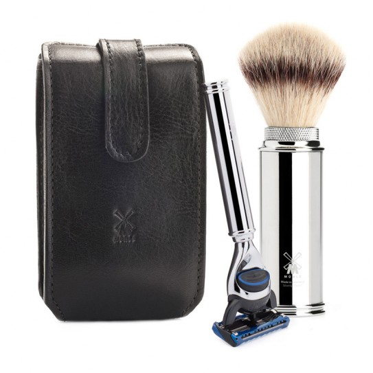 Podróżny zestaw do golenia Muhle RT3F (Gillette Fusion)