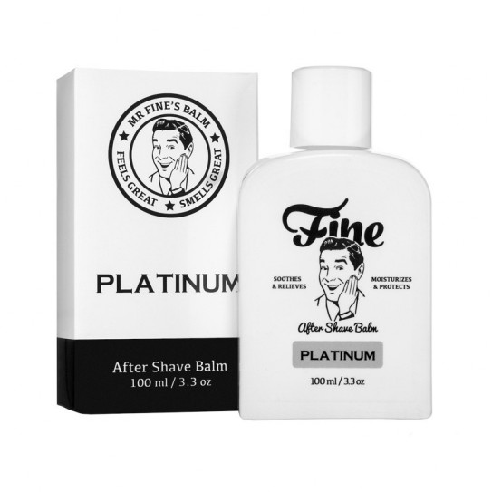 Balsam po goleniu Fine After Shave Balm - Platinum 100 ml
