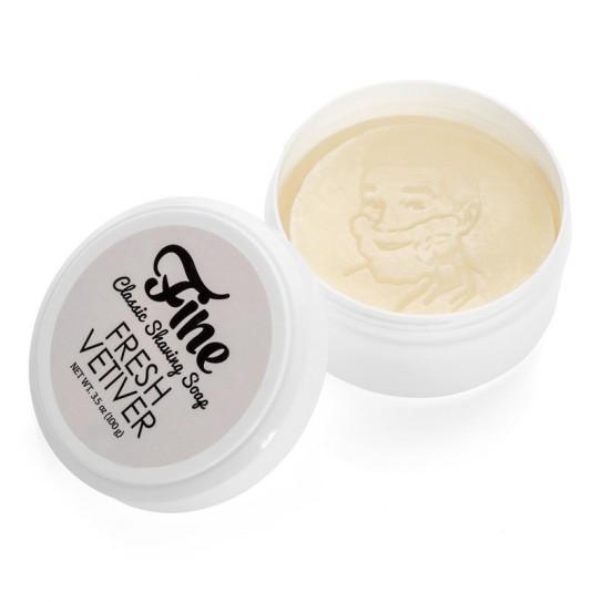 Mydło do golenia Fine Classic Shaving Soap - Fresh Vetiver 100 g