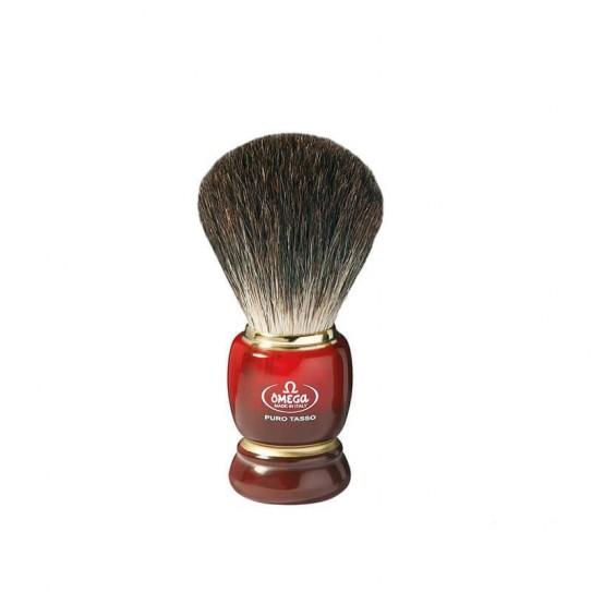 Pędzel do golenia Omega 6151 włosie borsuka
